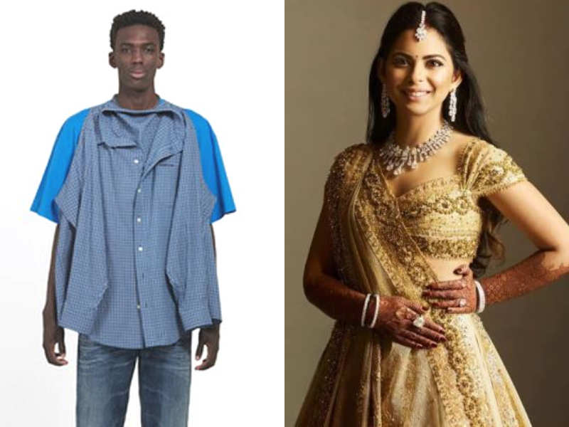 ac4917cd54650e From T-shirt shirt to Valentino lehenga: Fashion experiments of 2018 ...