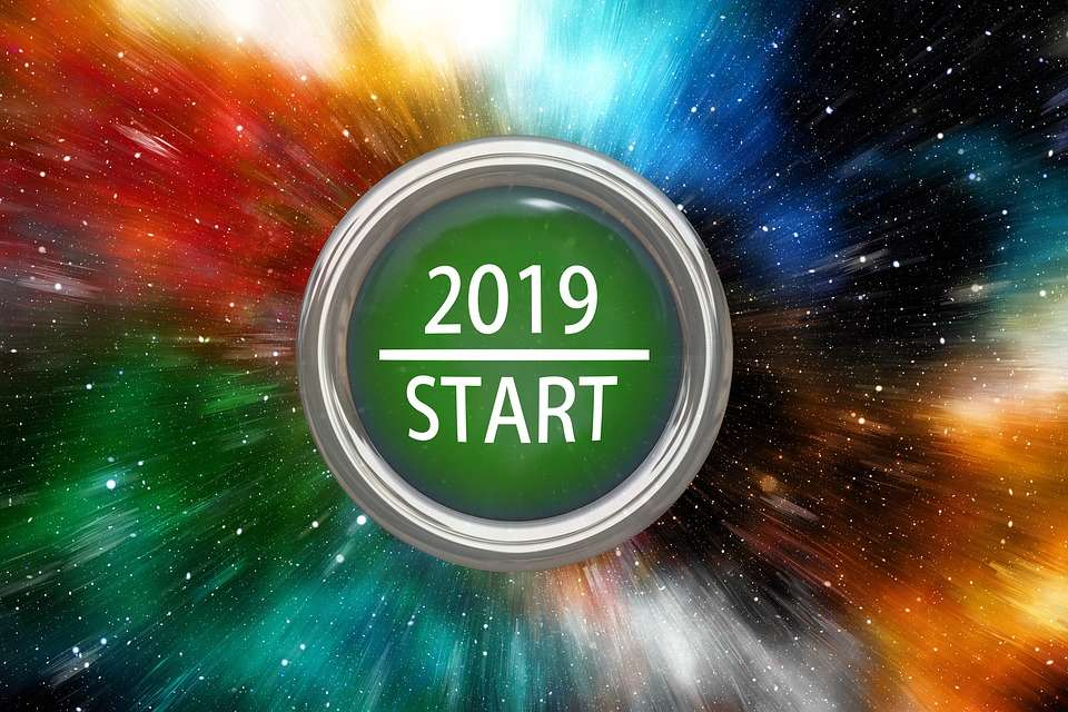 Happy New Year 2019 greeting card, photos, images download HD, wallpaper