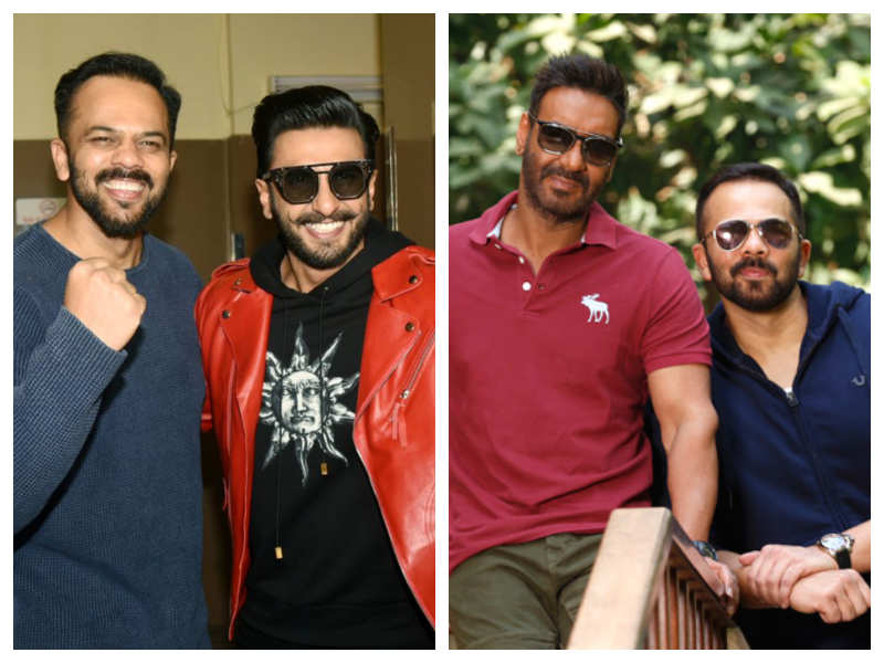 Rohit Shetty Reveals That Ajay Devgn Broke The Ice With Ranveer Singh