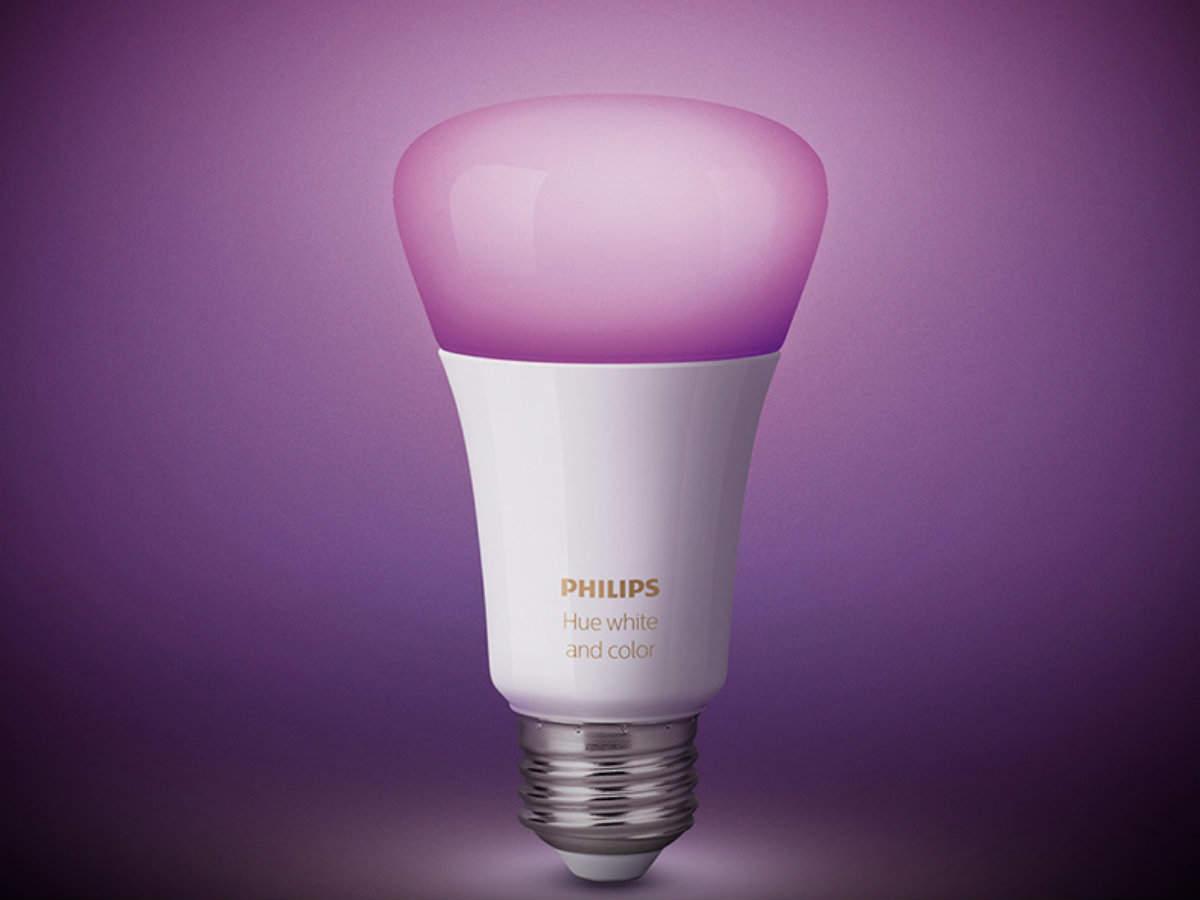 Smart-lights: Options here include Syska SmartLight and Philips Hue smart bulb