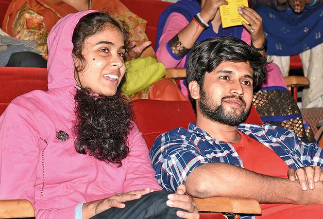 Kajal and Abhishek Mohan (BCCL/ Vishnu Jaiswal)