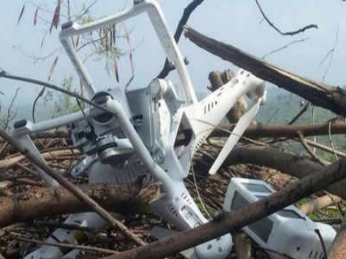 Shot down Indian spy drone, claims Pak - Times of India