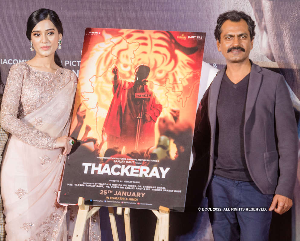 Thackeray: Trailer launch