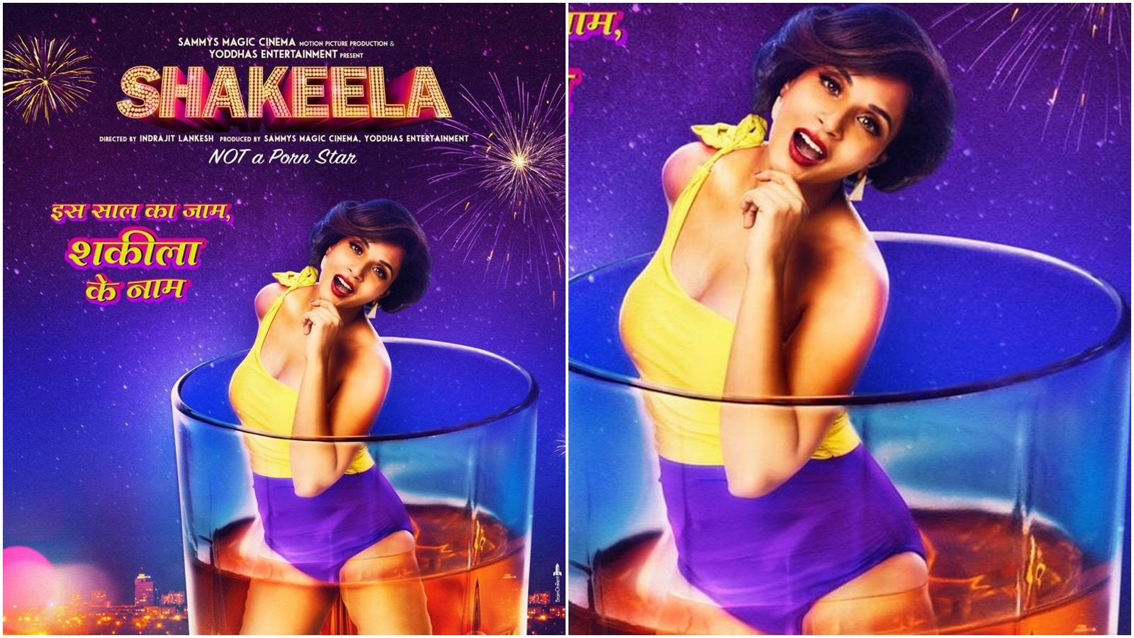 Shakeela poster: Richa Chadha wishes New Year, immersed in alcohol