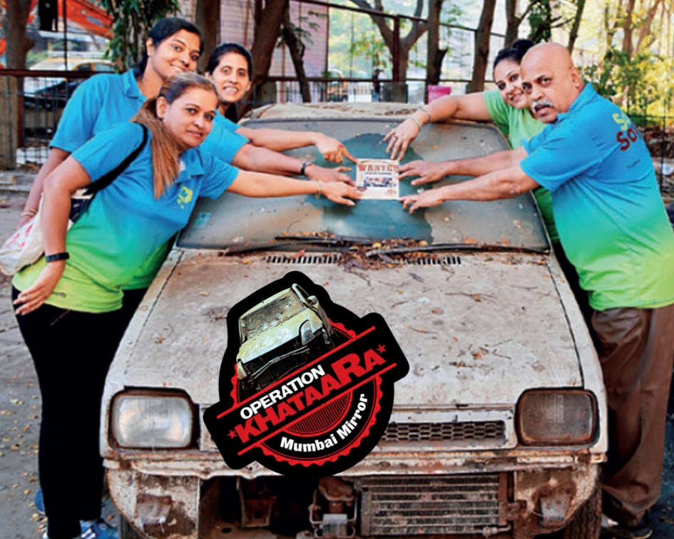 Stickers to treat BMC'S blind spot for clunkers