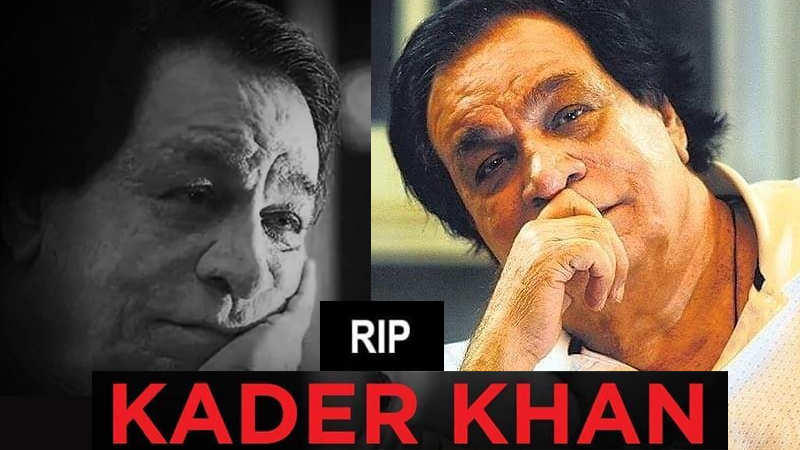 Veteran Bollywood actor Kader Khan's funeral held in Canada
