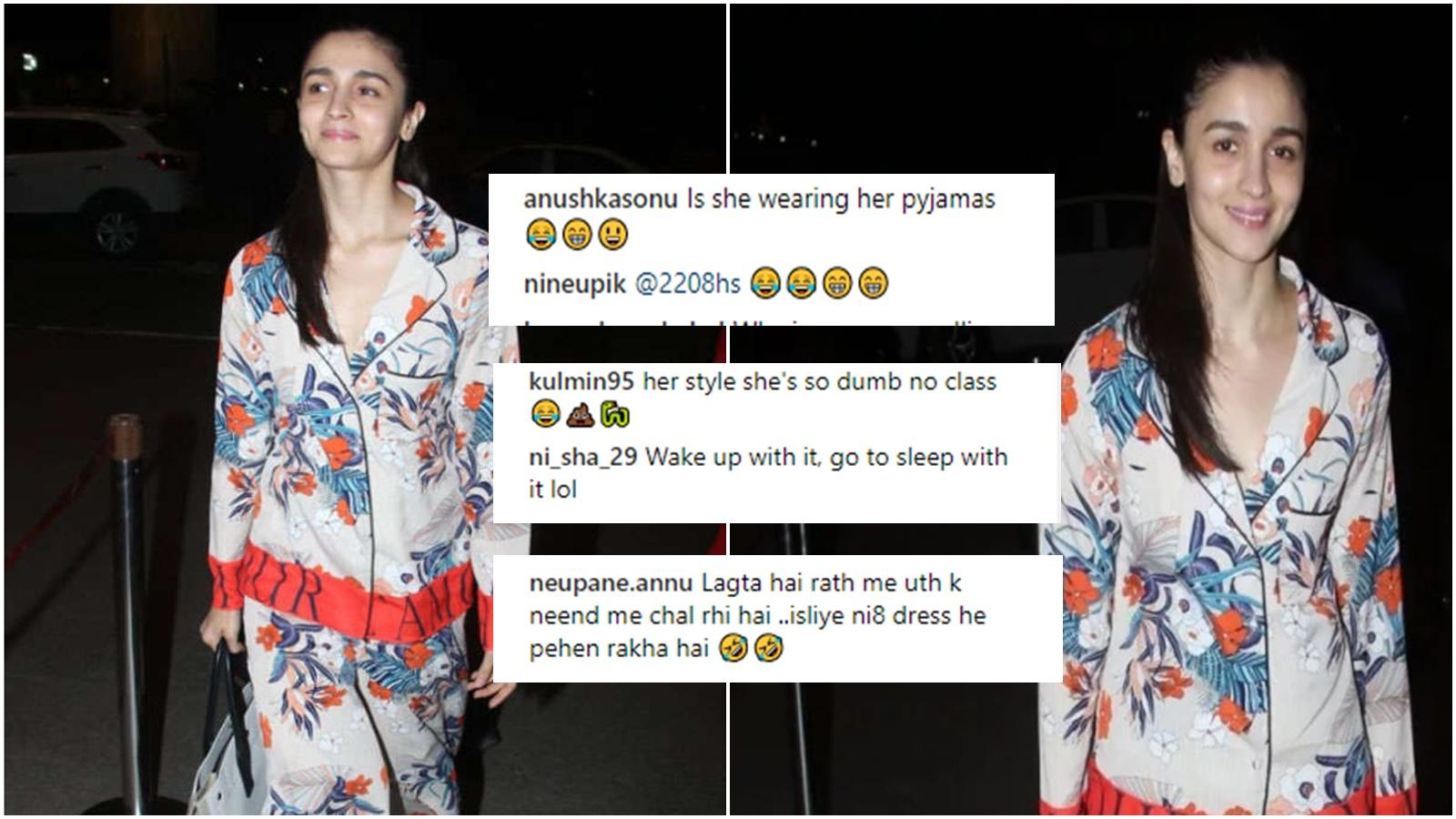 When Alia Bhatt's airport look inspired a field day for online trolls