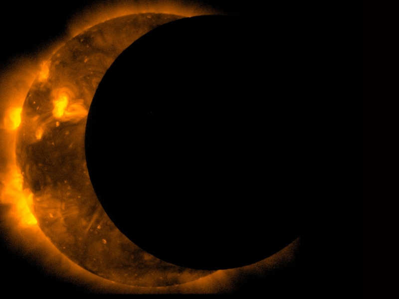 Partial Solar Eclipse Photos