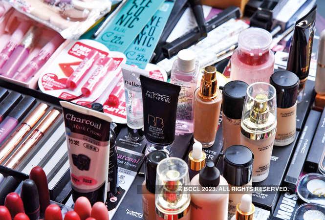 Fake make-up products in Sarojini Nagar and Sadar Bazaar (BCCL)