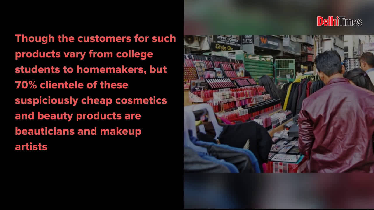 Is your parlour aunty using genuine makeup products?