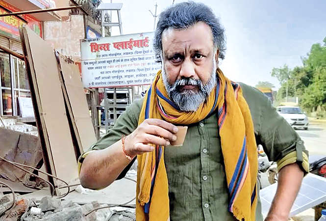Anubhav Sinha during the recce of his third film in Lucknow (BCCL)