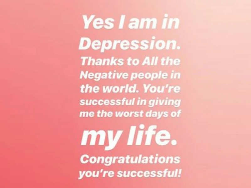 Neha Kakkar is suffering from depression