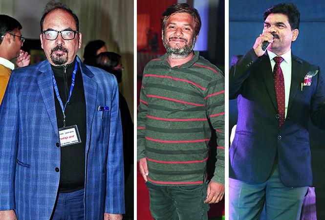 (L) Awanesh Singh (C) Amit Rangkarmi (R) Akash (BCCL/ Aditya Yadav)