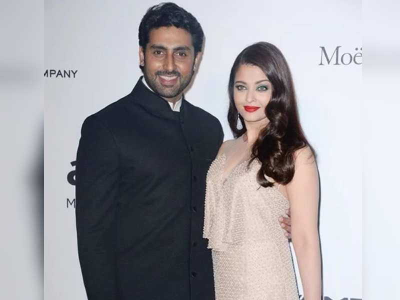 Abhishek Bachchan's flashback Friday picture with wife