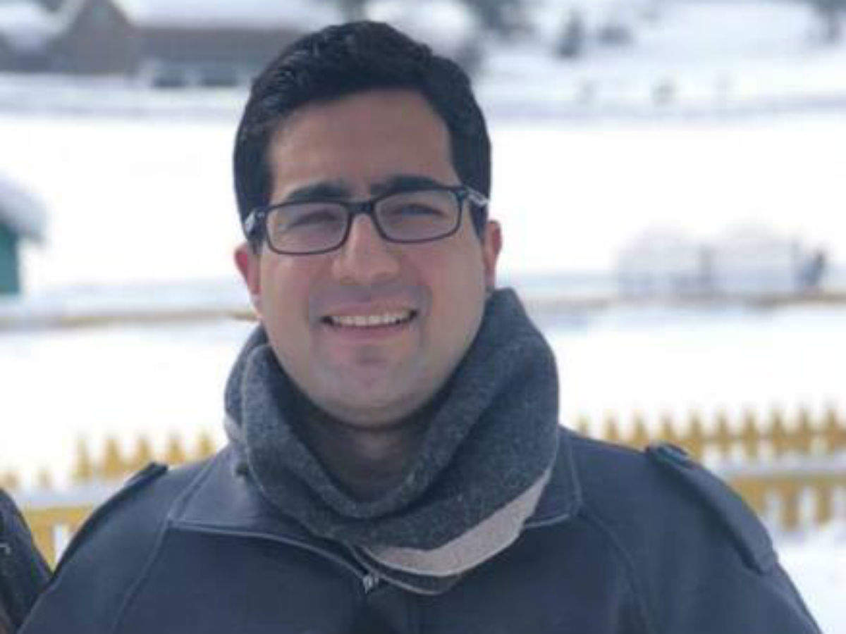 Shah Faesal: IAS officer Shah Faesal resigns from services