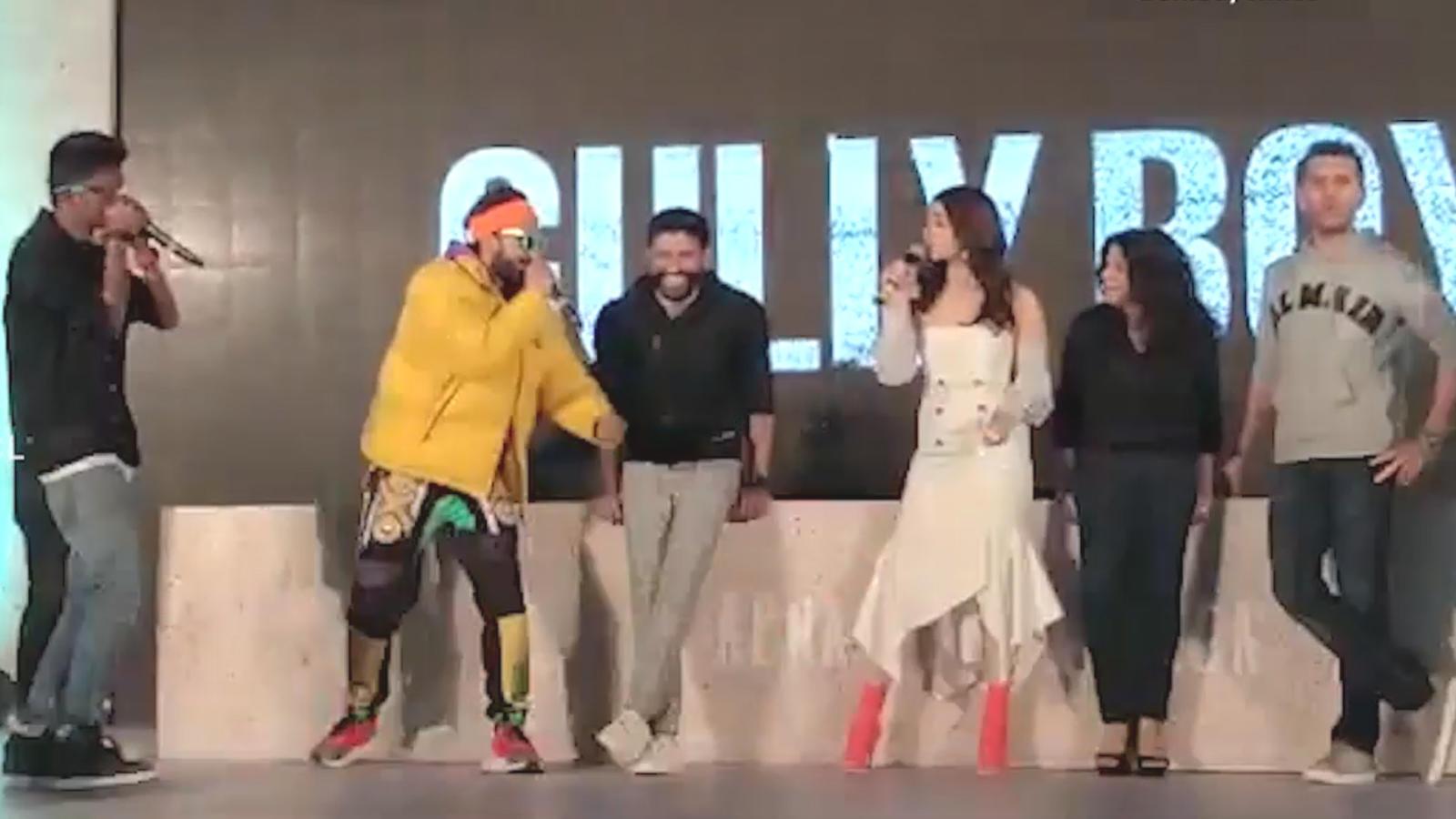 'Gully Boy' trailer launch: Ranveer Singh's rap steals the show