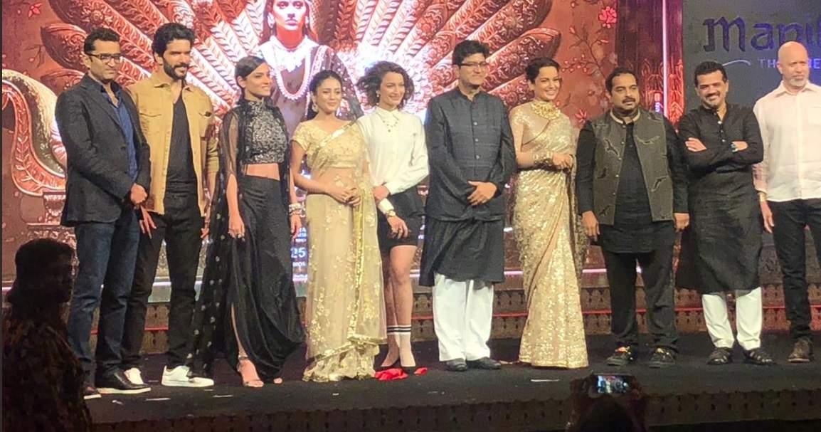 Kangana Ranaut at 'Manikarnika: The Queen Of Jhansi' music launch event