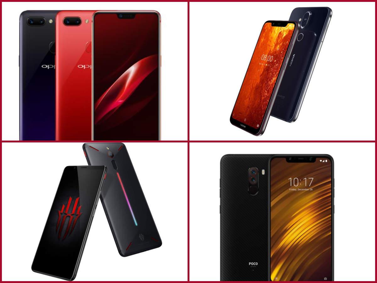 Best new smartphone under Rs 30,000: Oppo R15 Pro vs Nokia 8.1 vs Xiaomi Poco F1 vs Nubia Red Magic