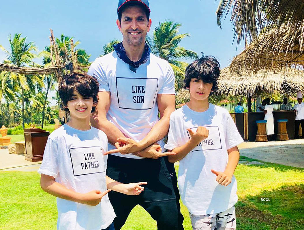 Hrithik Roshan celebrates Shivratri with ex-wife Sussanne Khan and family