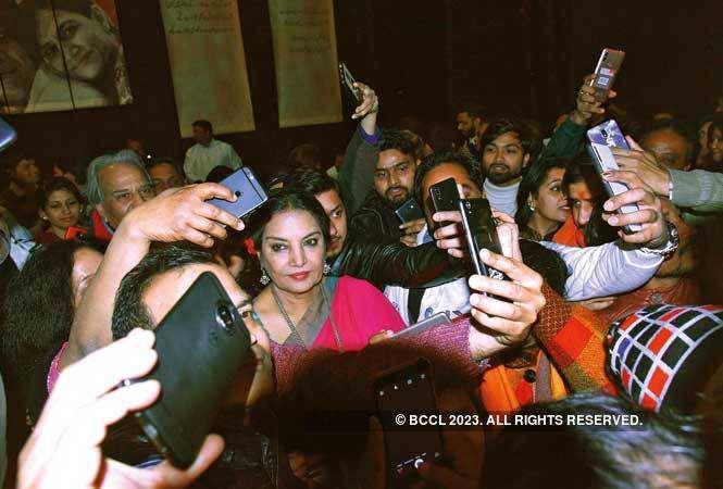 Shabana Azmi and Javed Akhtar's emotional tribute to Kaifi