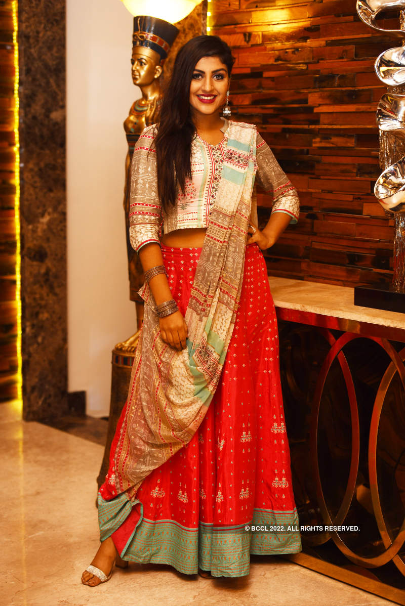 Chennaites attend the launch party of Park Elanza