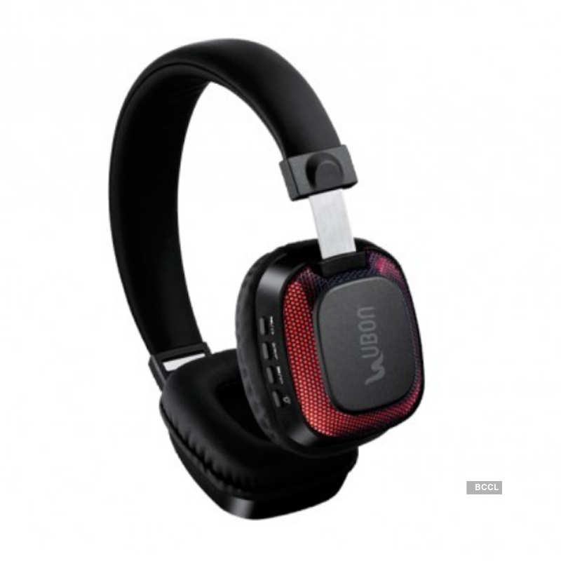 Ubon launches BT-5750 Light Up wireless headphones