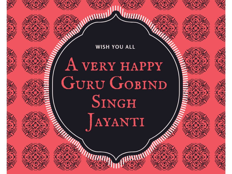 Happy Guru Gobind Singh Jayanti 2019: Images, Wishes, Messages, Cards