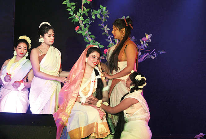 A scene from the play Abhigyan Shakuntalam (BCCL/ Arvind Kumar)