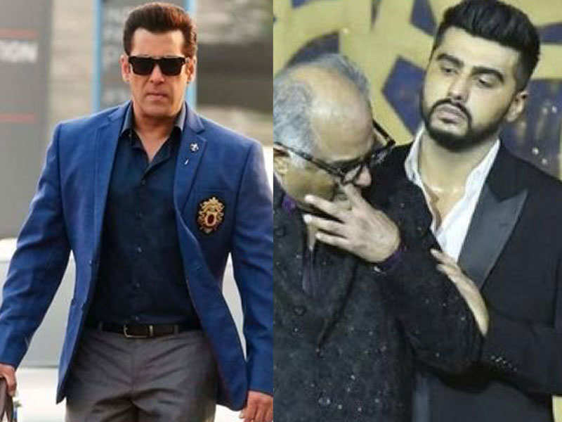 Arjun Kapoor and Boney Kapoor are no more welcomed at Salman Khan's house? - Top controversies of Bollywood celebs  | The Times of India