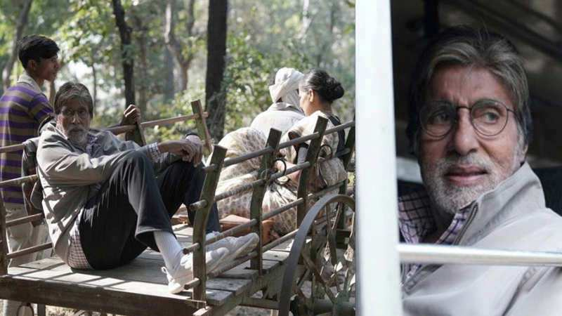 Amitabh Bachchan gets emotional on wrapping up 'Jhund' shoot