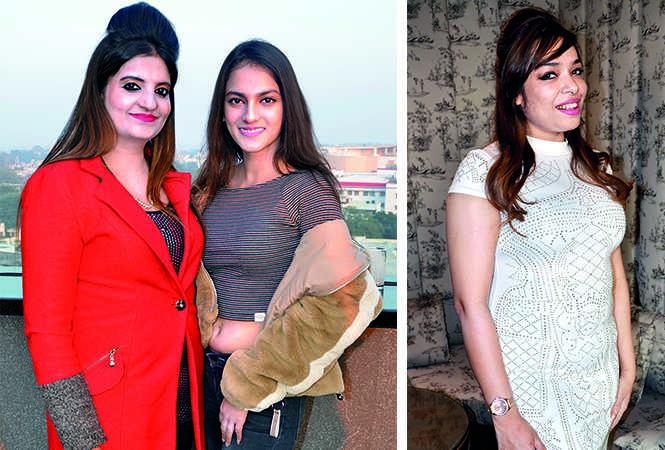 (L) Ekta and Khushi (R) Naina (BCCL/ IB Singh)