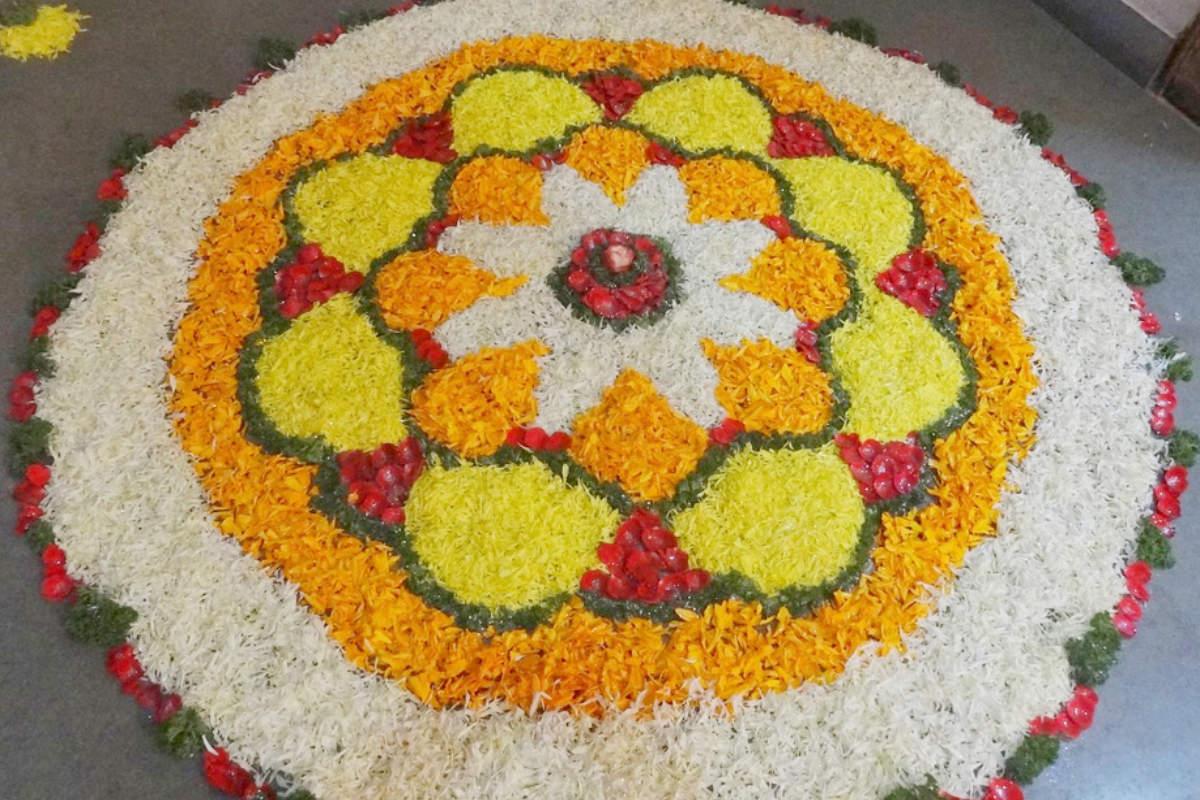 Pongal Kolam and Rangoli designs