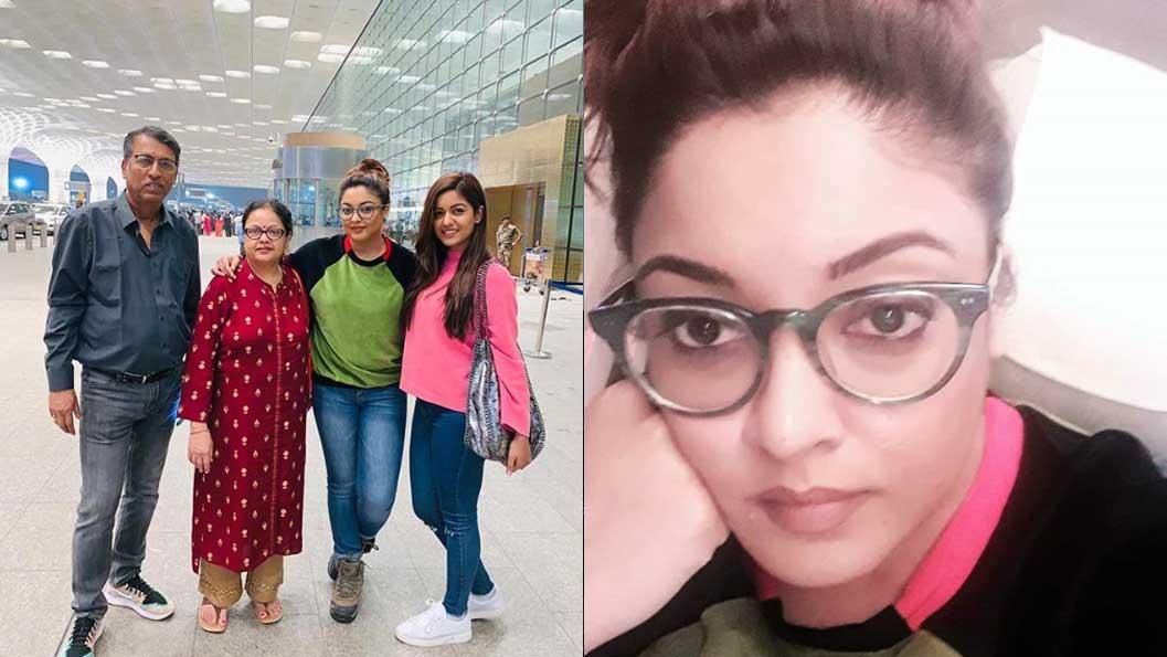 Tanushree Dutta returns to US, blocks followers for posting nasty comments