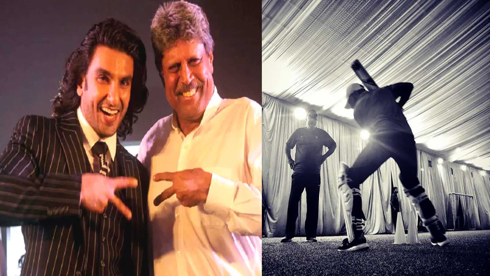 Ranveer Singh unveils the first look of Kapil Dev biopic '83'