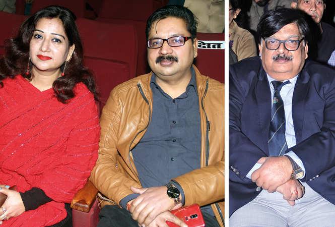 (L) Sanyogita and Vinay (R) Vijay Shankar Sharma (BCCL/ Aditya Yadav)