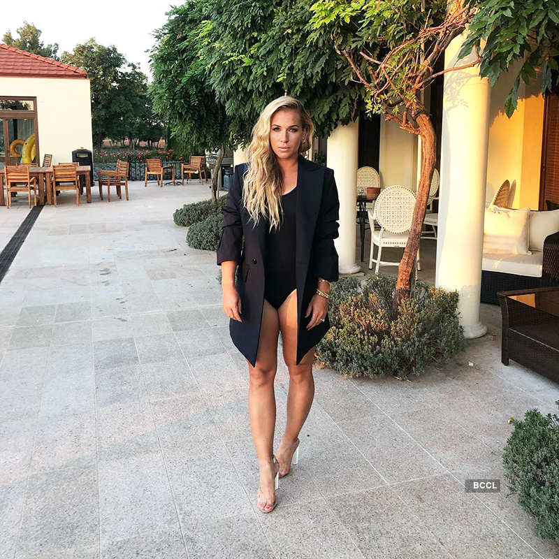 Wimbledon beauty Dominika Cibulkova is making heads turn with her stunning pictures