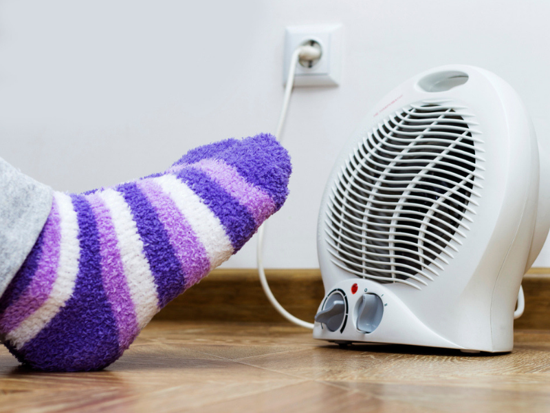 Warning: Using heaters can harm you! Here's how | The Times of India