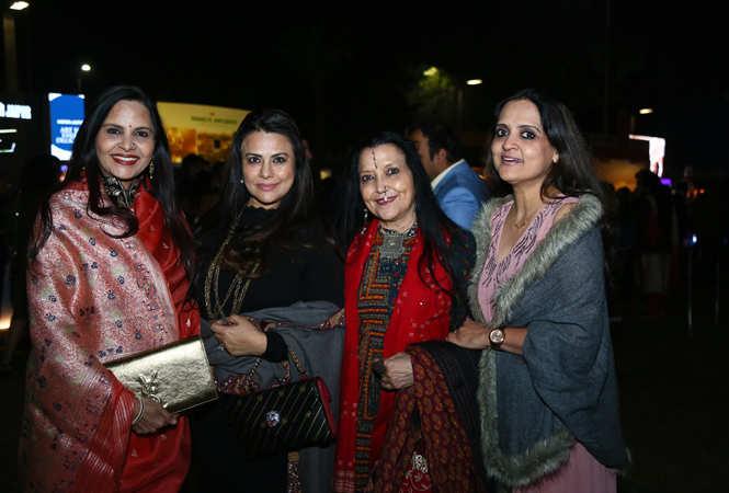 Nisha singh, Meera Kataria, Tripti Pandey n Doorva Sharma