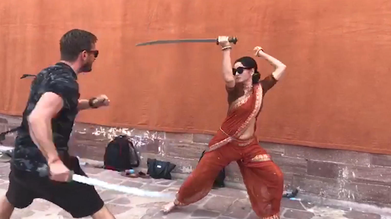 Watch: Ankita Lokhande practices her sword fighting for 'Manikarnika: The Queen Of Jhansi'