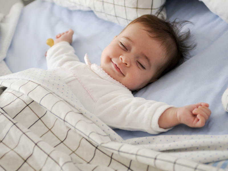 How to get a baby to sleep faster