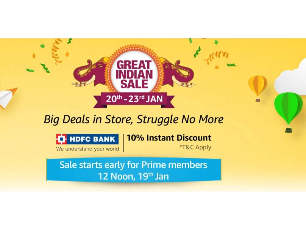 Amazon Great Indian Sale: Dates, offers and everything you need to know before buying