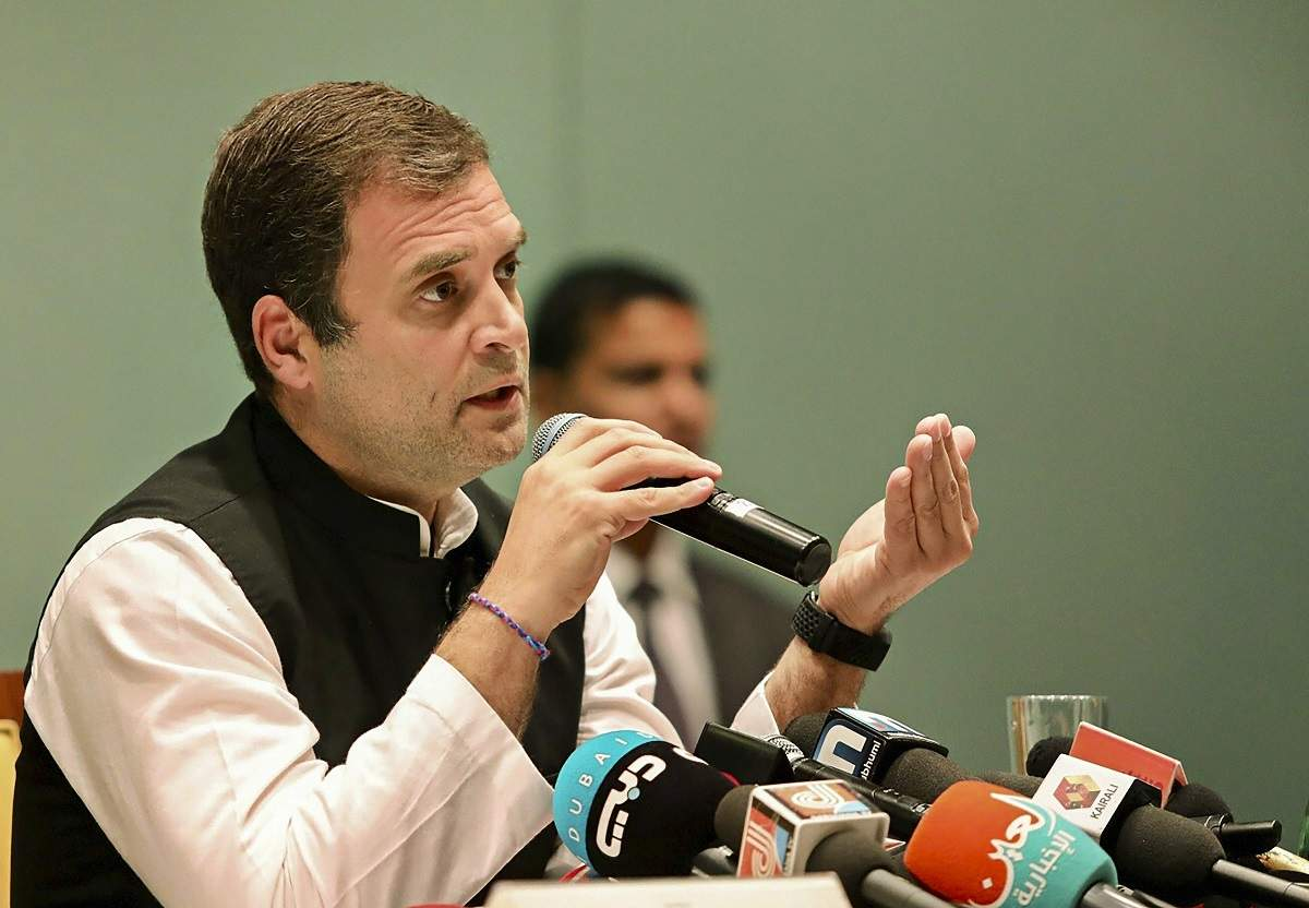 Rahul Gandhi extends support to Mamata Banerjee's TMC, says it is a
