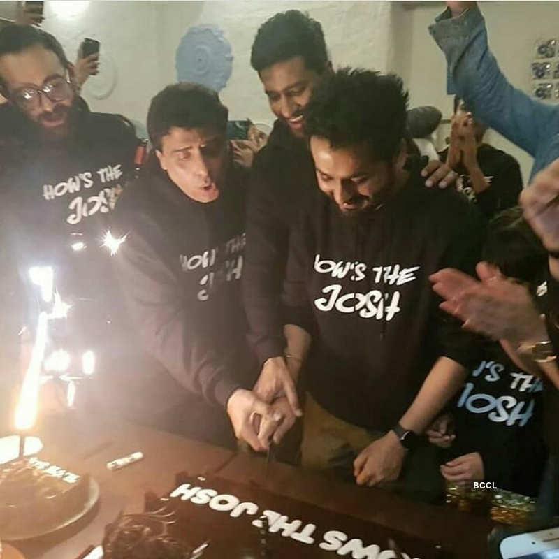 Vicky Kaushal, Yami Gautam and team of 'Uri' celebrate film's success