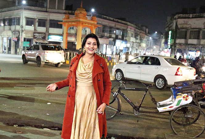 Jaya Bhattacharya at Lalbagh in Lucknow (BCCL/ Aditya Yadav)
