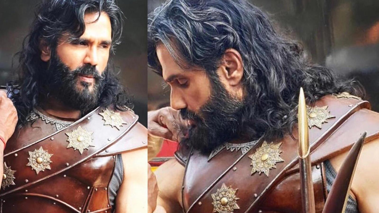Suniel Shetty as fierce warrior in Priyadarshan period thriller 'Marakkar: The Lion of Arabian Sea'