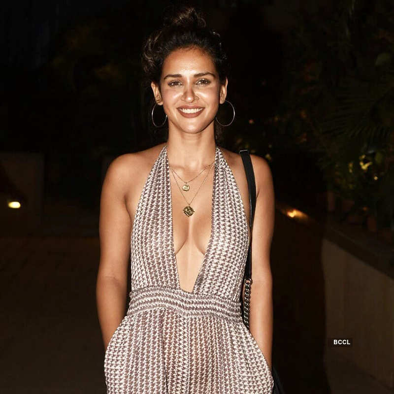 Aisha Sharma gets brutally trolled as she steps out in a bold dress for a party