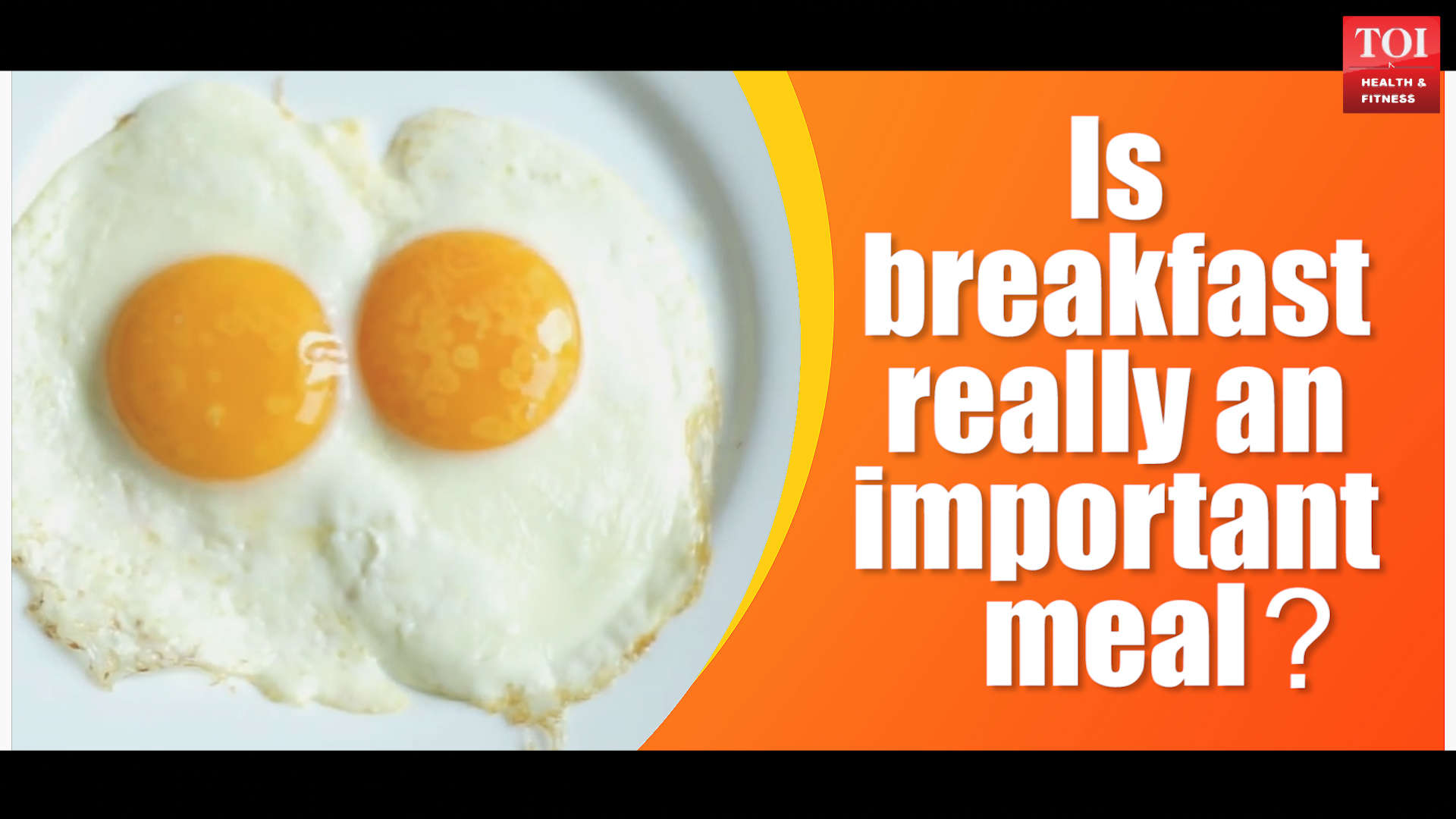 Is breakfast really an important meal?