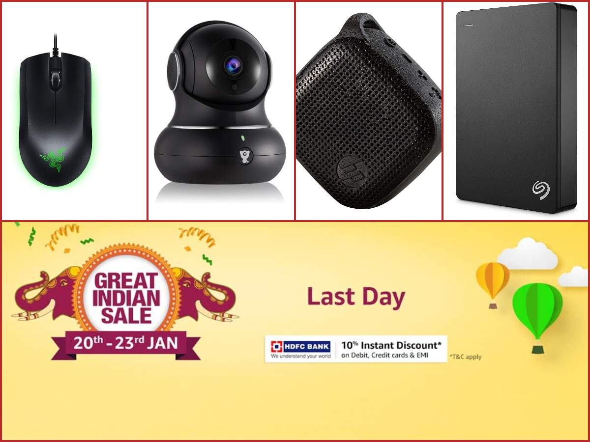 Last Day of Amazon Great Indian Sale: 15 gadgets available at 70% discount or more