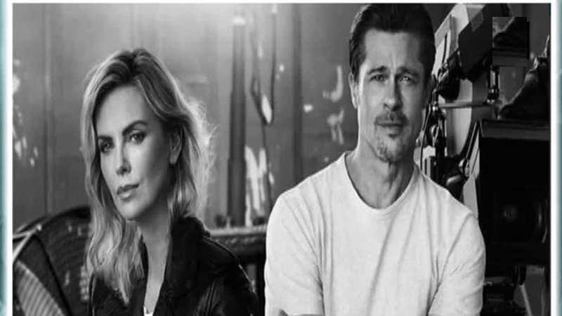 Brad Pitt not dating Charlize Theron