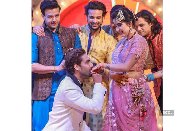 rohit purohit sheena bajaj wedding